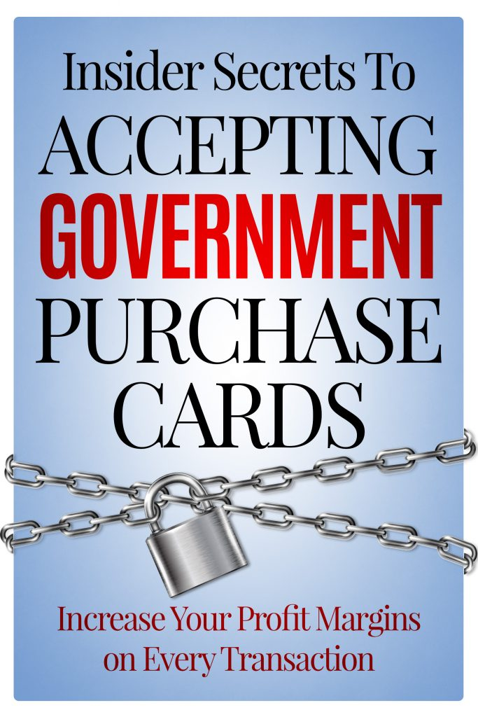 Government Vendors-Increase your margins on every transaction!